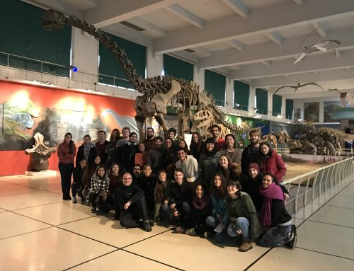 Visita de los alumnos de evolución de la Facultad de Ciencias Exactas y Naturales de la UBA.