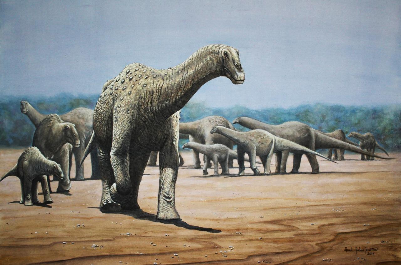 Nuevo dinosaurio del Cretácico Superior del sudoeste de Brasil: unos de los mayores titanosaurios que reinó este país al final de la Era Mesozoica