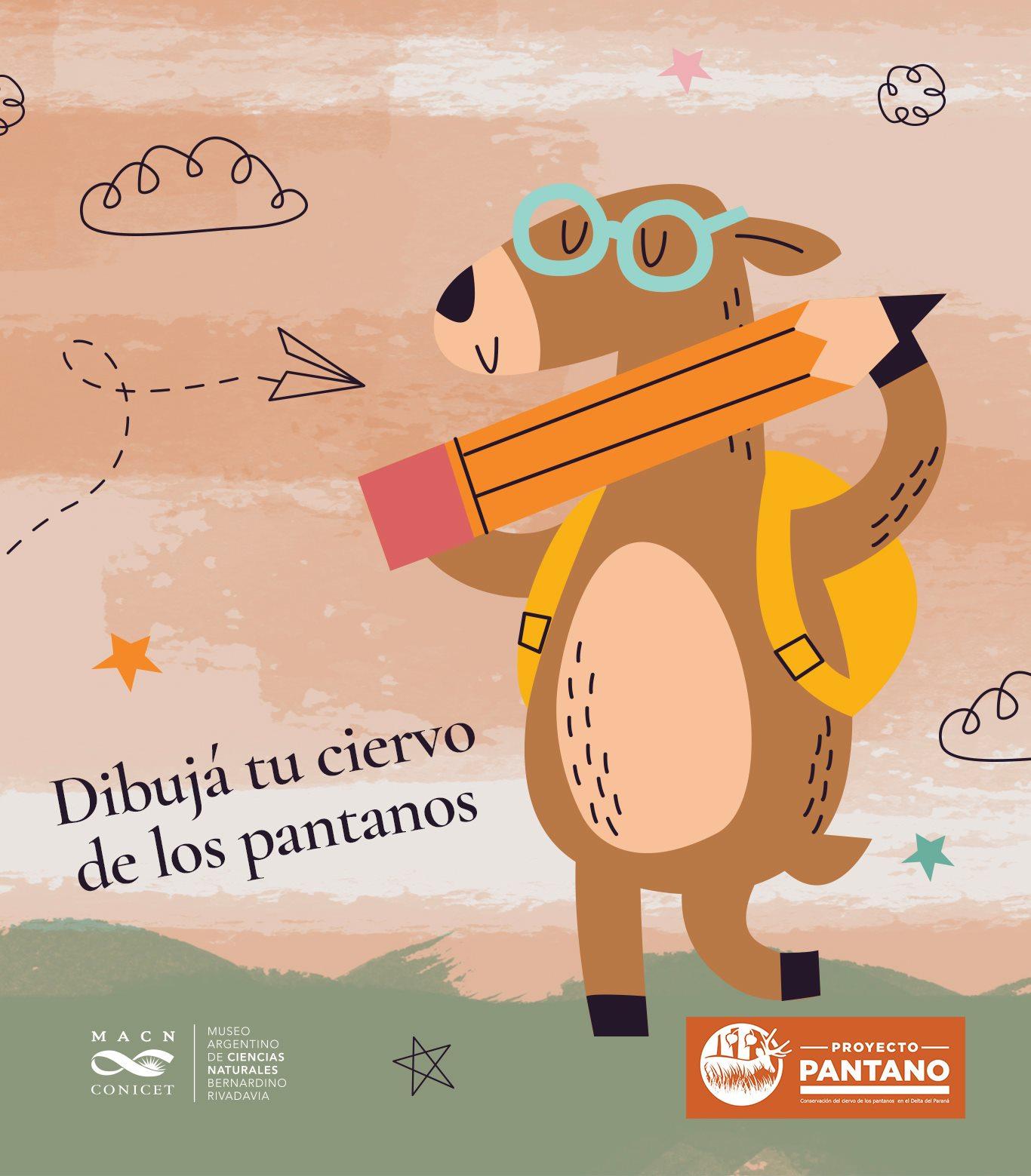 Campaña de visibilización y concientización sobre el ciervo de los pantanos