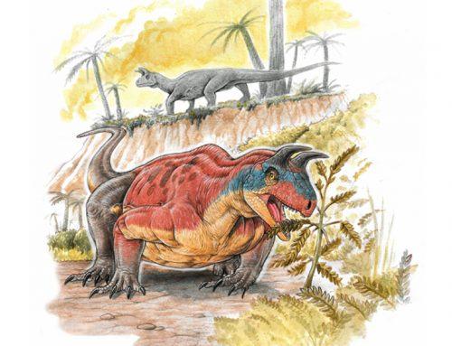 Encuentran en India un reptil con cuernos de 240 millones de años