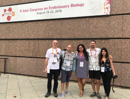 Argentinos en el II Joint Congress on Evolutionary Biology, Montpellier, Francia.