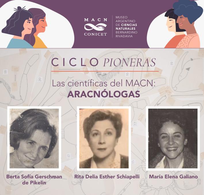 Ciclo Pioneras: las Científicas del Museo Argentino de Ciencias Naturales. Edición 2021