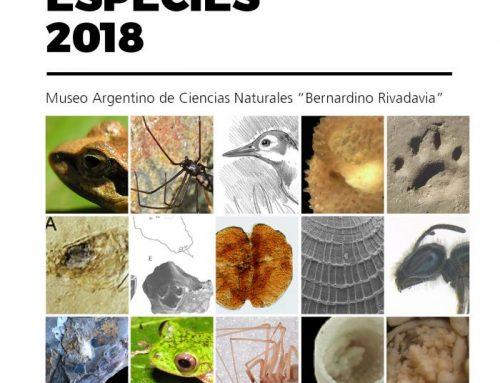 Nuevas Especies 2018